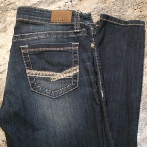 BKE denim Stella 29 R dark wash skinny jeans